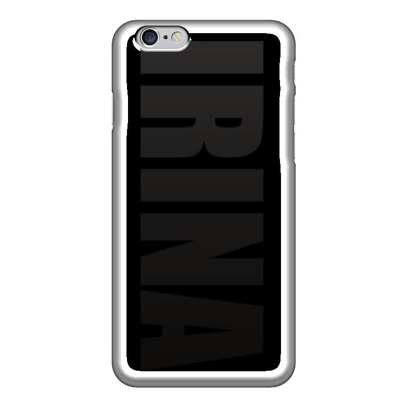 Чехол для iPhone 6 глянцевый Printio С именем ирина чехол для iphone 5 printio с именем ирина