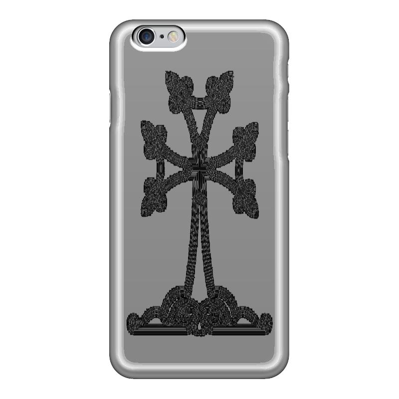 Чехол для iPhone 6 глянцевый Printio Армянский крест
