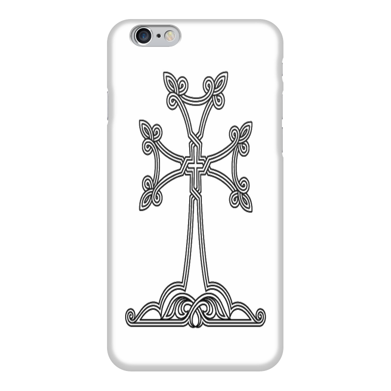 Чехол для iPhone 6 глянцевый Printio Армянский крест футболка для беременных printio армянский крест