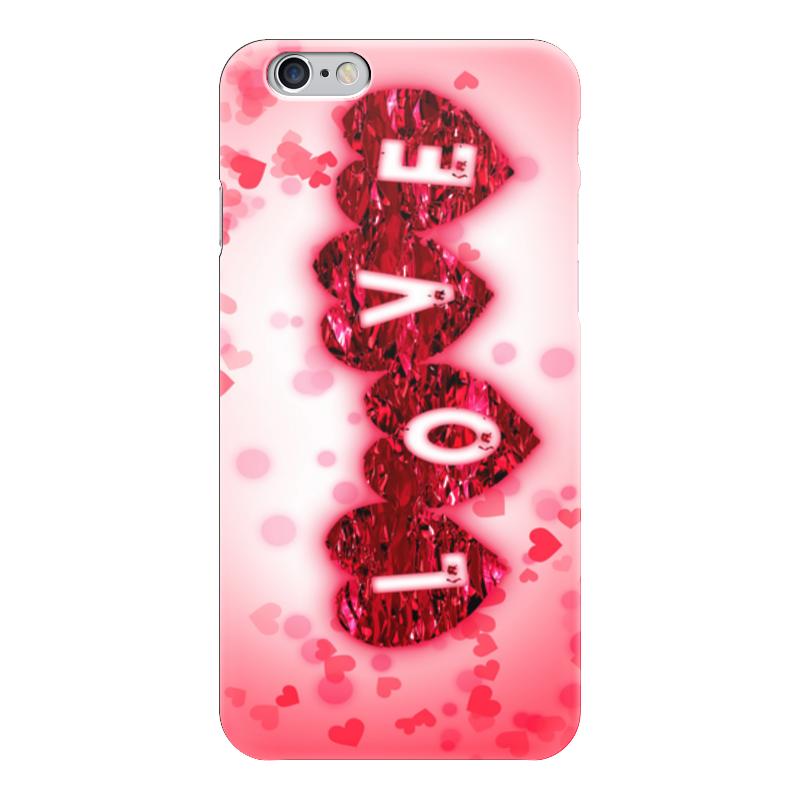 Чехол для iPhone 6 глянцевый Printio Любовь чехол для iphone 5 глянцевый с полной запечаткой printio любовь