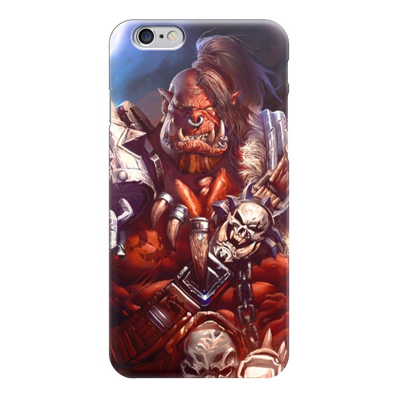 Чехол для iPhone 6 глянцевый Printio Warcraft: орк чехол для iphone 6 глянцевый printio world of warcraft
