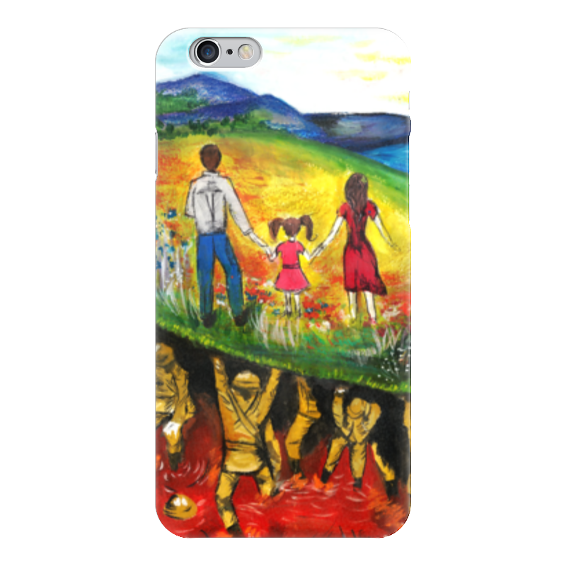 Чехол для iPhone 6 глянцевый Printio Цена мира