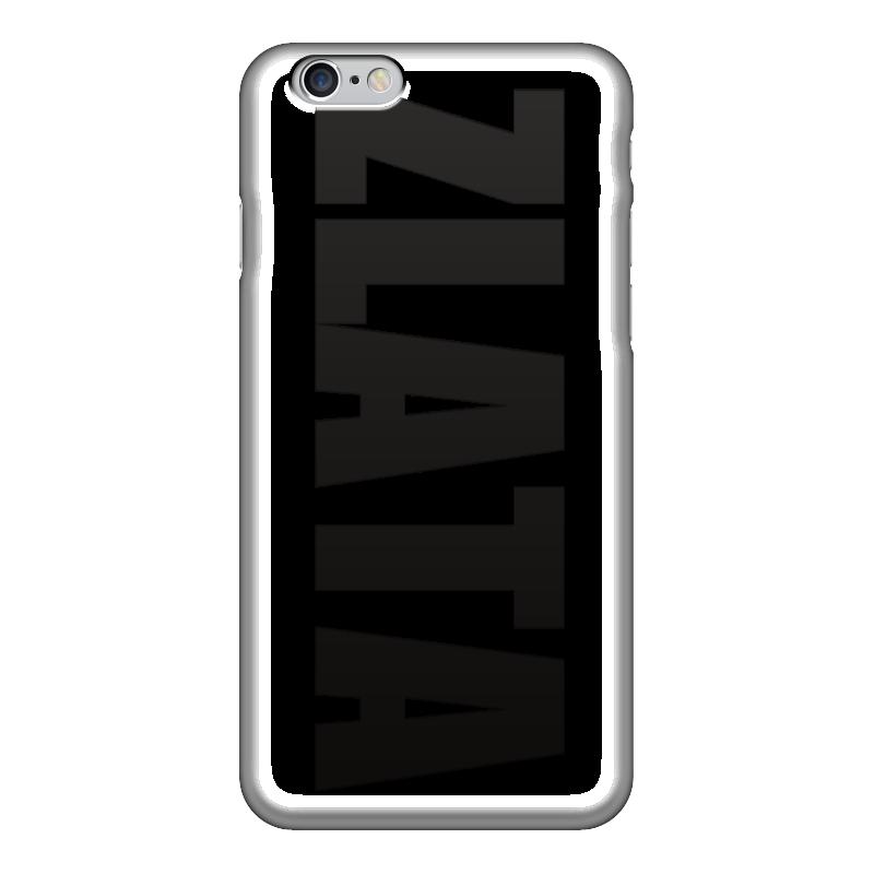 Чехол для iPhone 6 глянцевый Printio С именем злата чехол для iphone 5 printio с именем лариса