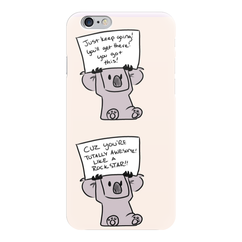 Чехол для iPhone 6 глянцевый Printio Мотивация чехол для iphone 6 глянцевый printio красавица и чудовище