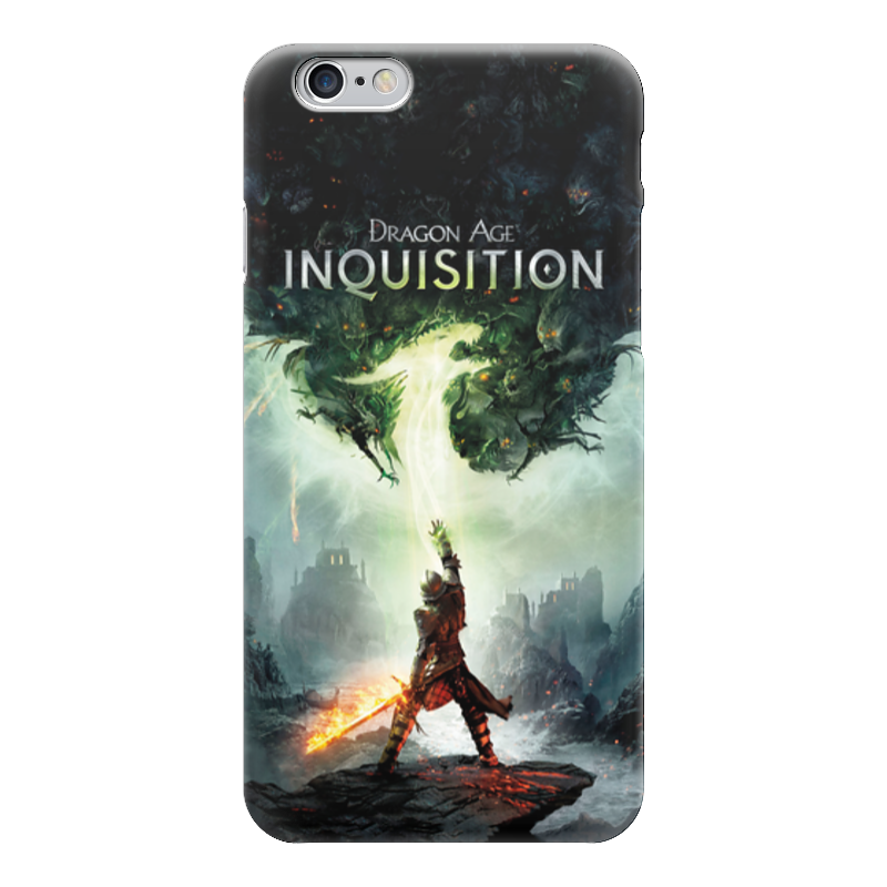 Чехол для iPhone 6 глянцевый Printio Dragon age inquisition
