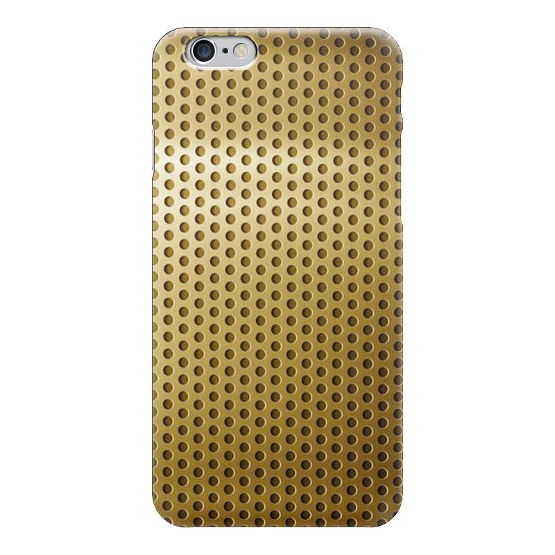 Чехол для iPhone 6 глянцевый Printio Золотая сетка золотая семечка масло золотая семечка подсолнечное раф дез 0 5л
