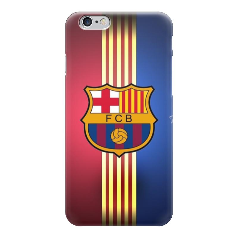 Чехол для iPhone 6 глянцевый Printio Барселона на айфон 6/6s купить чехол на айфон 5 s disney
