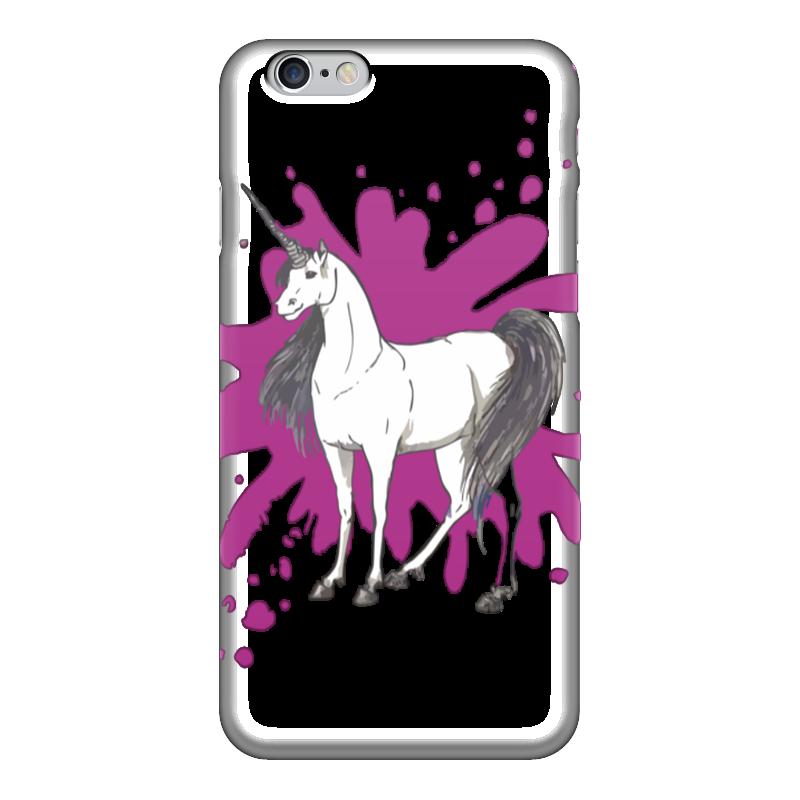 Чехол для iPhone 6 глянцевый Printio Единорожка книги эксмо мифические существа