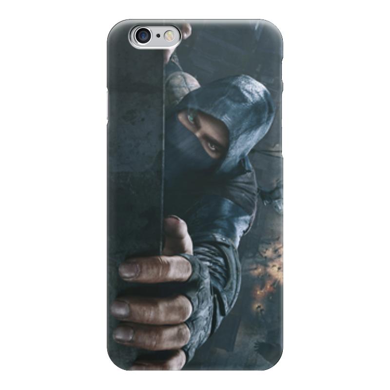Чехол для iPhone 6 глянцевый Printio Thief (вор) экшен камера