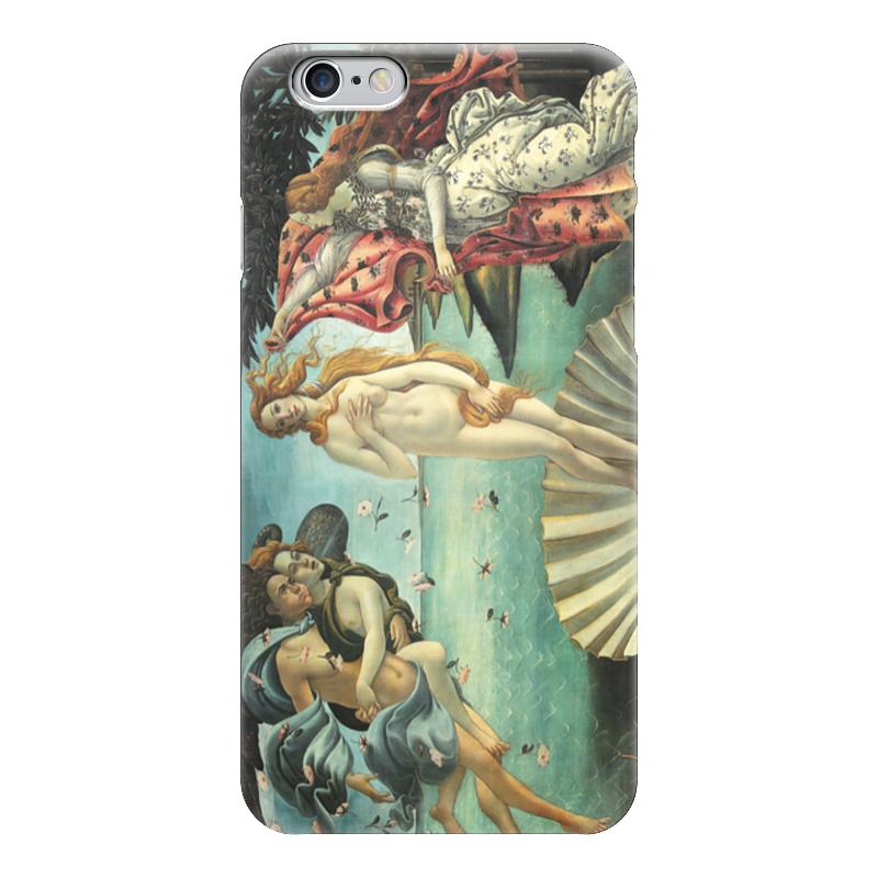 Чехол для iPhone 6 глянцевый Printio Рождение венеры (сандро боттичелли) картина весна боттичелли