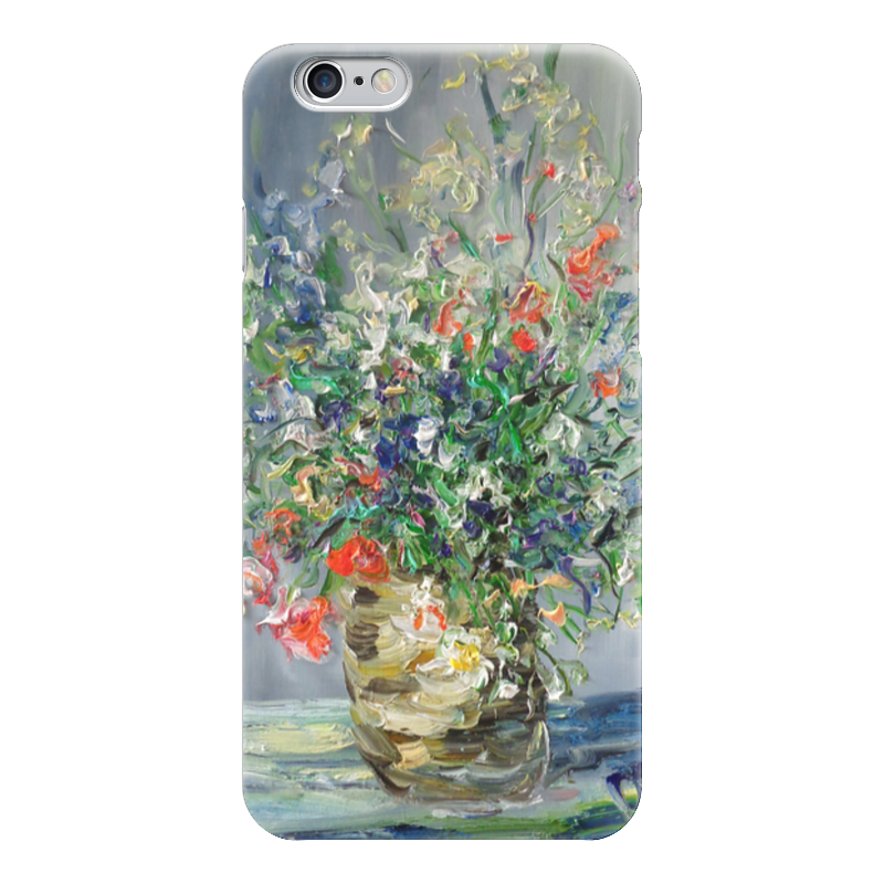 Чехол для iPhone 6 глянцевый Printio Цветочный рай егерь последний билет в рай котенок