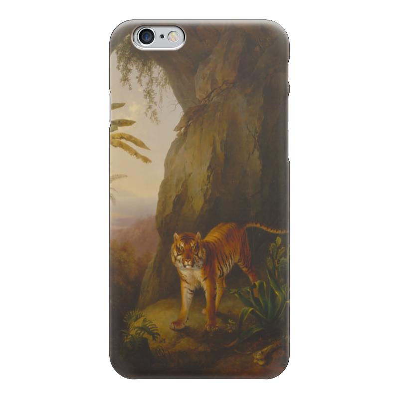 Чехол для iPhone 6 глянцевый Printio Тигр в пещере (жак-лоран агас) жак рейн в россии
