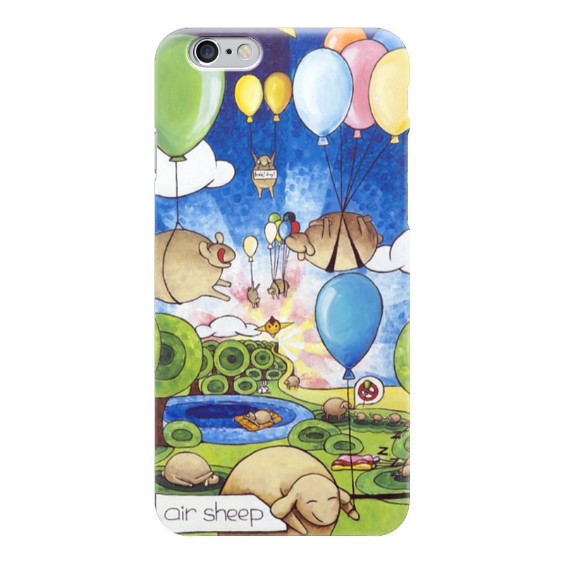 Чехол для iPhone 6 глянцевый Printio Lollypups #34 (air sheep) чехол для iphone 6 глянцевый printio lollypups 17 the dreamer