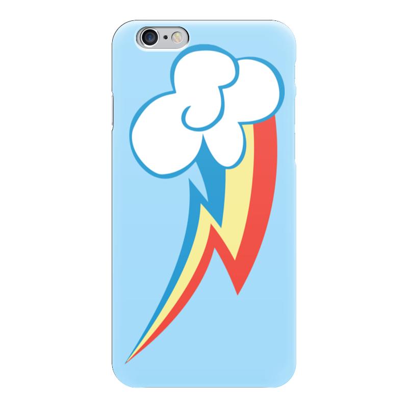 Чехол для iPhone 6 глянцевый Printio Rainbow dash / рейнбоу дэш пылесос рейнбоу