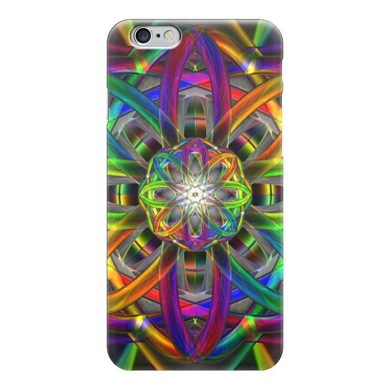 Чехол для iPhone 6 глянцевый Printio Rainbow dimensions dimensions скалистый берег москва