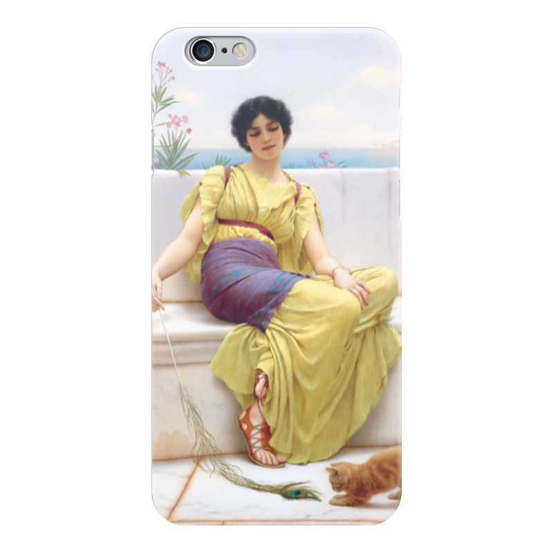 Чехол для iPhone 6 глянцевый Printio Праздность (джон уильям годвард) уильям пол янг ева