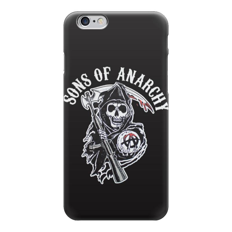 Чехол для iPhone 6 глянцевый Printio Сыны анархии цена