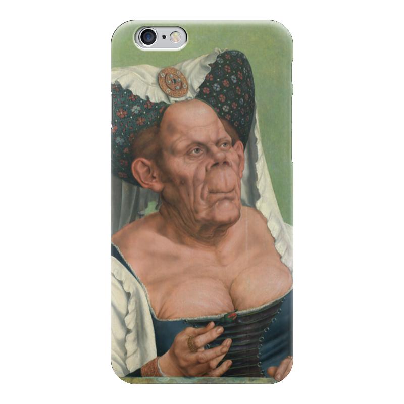 Чехол для iPhone 6 глянцевый Printio Уродливая герцогиня маккейб а пугливая герцогиня роман