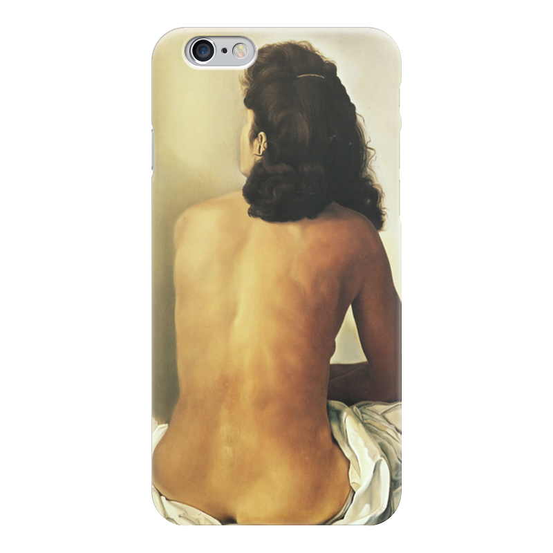 Чехол для iPhone 6 глянцевый Printio Сальвадор дали /gala nude seen from behind чехол для iphone 6 глянцевый printio сальвадор дали