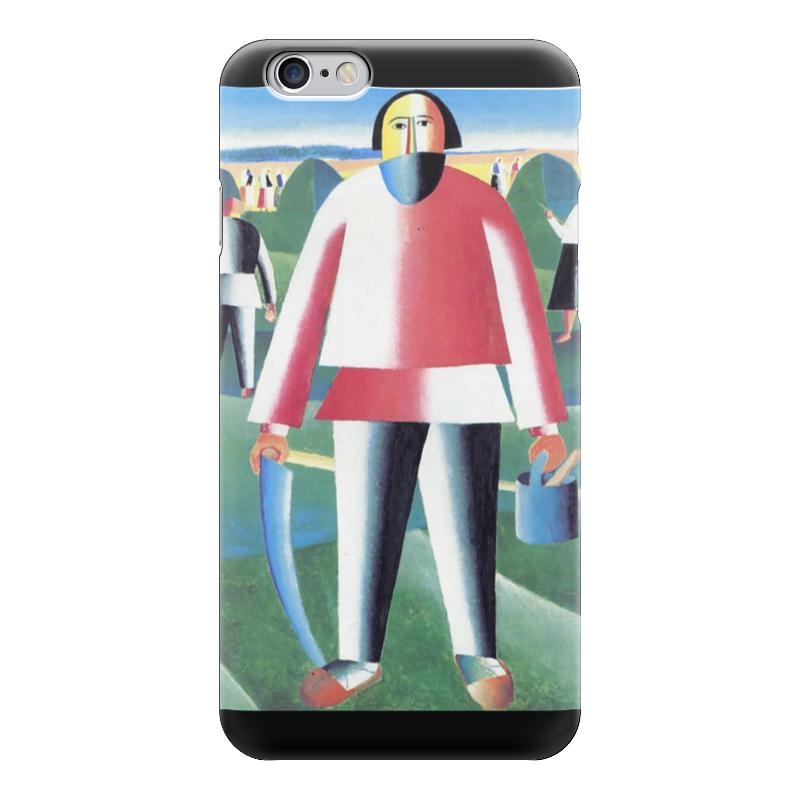 Чехол для iPhone 6 глянцевый Printio Жнец (казимир малевич)
