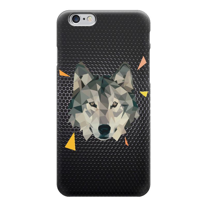 Чехол для iPhone 6 глянцевый Printio Волк (wolf) lone wolf and cub omni vol 6