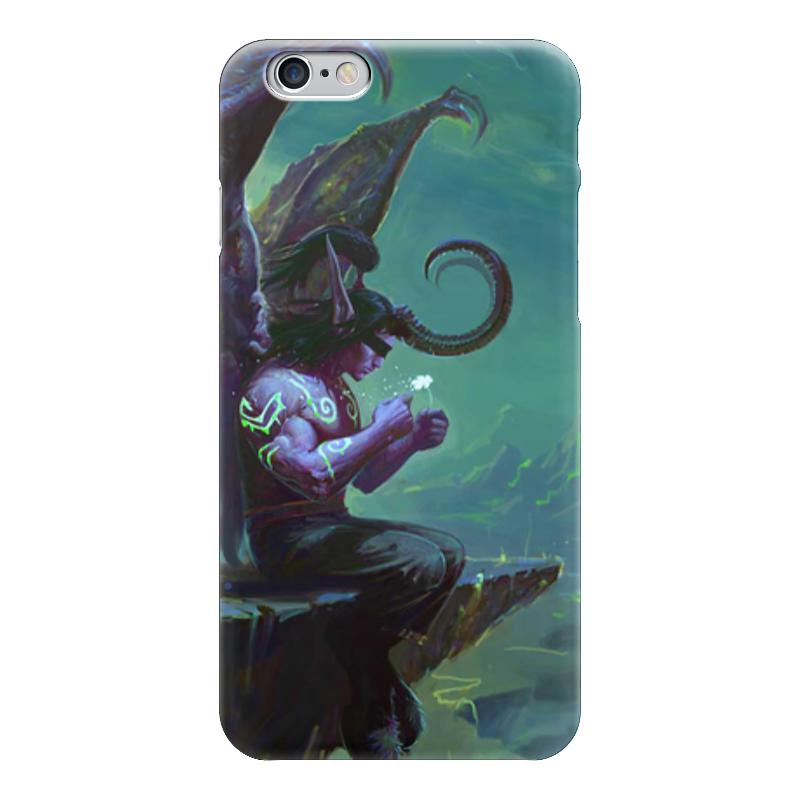 Чехол для iPhone 6 глянцевый Printio Warcraft collection: illidan чехол для iphone 6 глянцевый printio world of warcraft