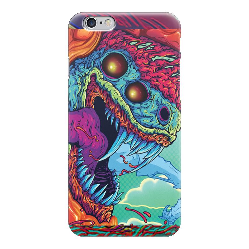 Чехол для iPhone 6 глянцевый Printio Hyper beast чехол для карточек монстр фиолетовый дк2017 105