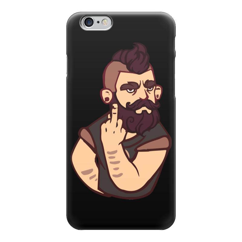 Чехол для iPhone 6 глянцевый Printio Bearded / бородач чехол для iphone 6 глянцевый printio бабушкин сад
