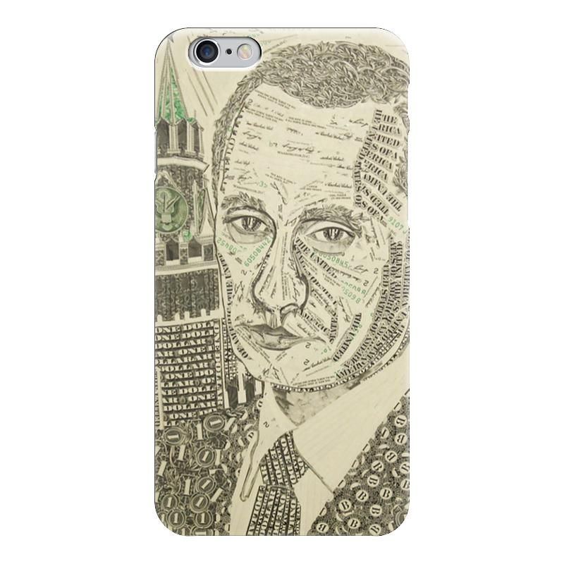 Чехол для iPhone 6 глянцевый Printio Путин - доллар чехол для iphone 6 глянцевый printio армянский крест