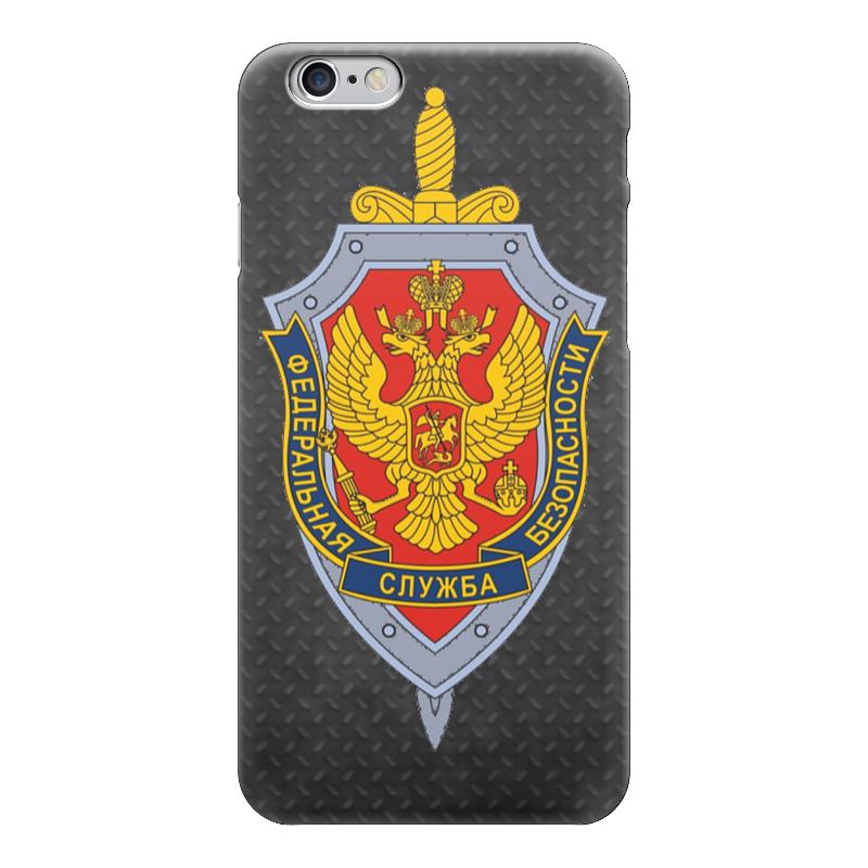 Чехол для iPhone 6 глянцевый Printio Фсб россии какой iphone лучше для россии