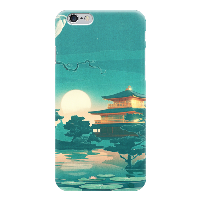 Чехол для iPhone 6 глянцевый Printio Япония чехол для iphone 6 plus глянцевый printio япония минимализм