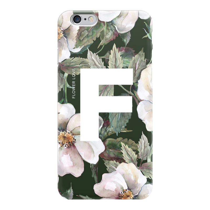 Чехол для iPhone 6 глянцевый Printio Flower love чехлы для телефонов with love moscow силиконовый дизайнерский чехол для meizu m3s перья