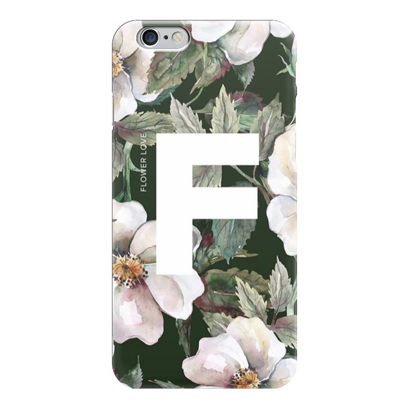 Чехол для iPhone 6 глянцевый Printio Flower love чехол для iphone 5 глянцевый с полной запечаткой printio love