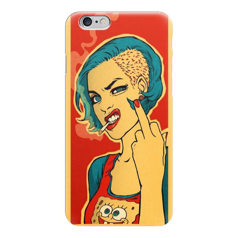 Чехол для iPhone 6 глянцевый Printio Bad girl чехол для iphone 6 глянцевый printio red girl