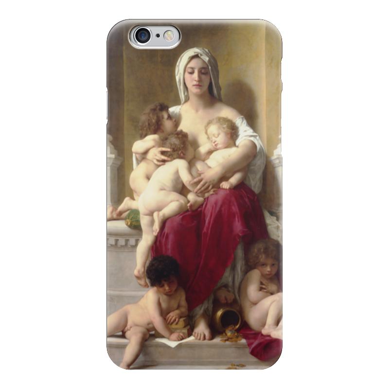 Чехол для iPhone 6 глянцевый Printio Милосердие (вильям бугро) чехол для iphone 6 глянцевый printio купальщица вильям бугро