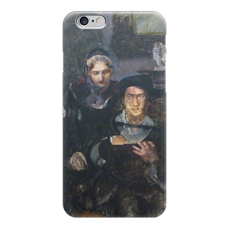 Чехол для iPhone 6 глянцевый Printio Гамлет и офелия кровать офелия