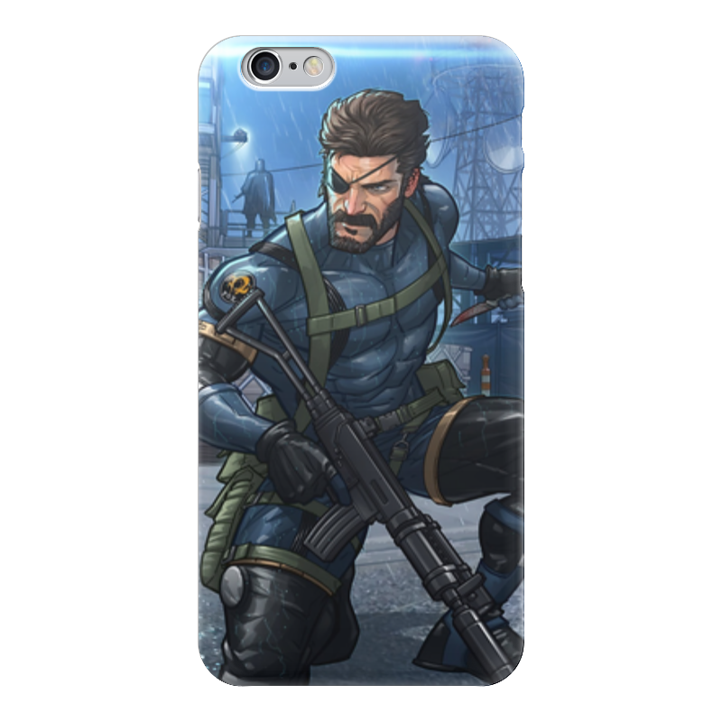 Чехол для iPhone 6 глянцевый Printio Big boss (metal gear solid) комбо для гитары boss katana mini