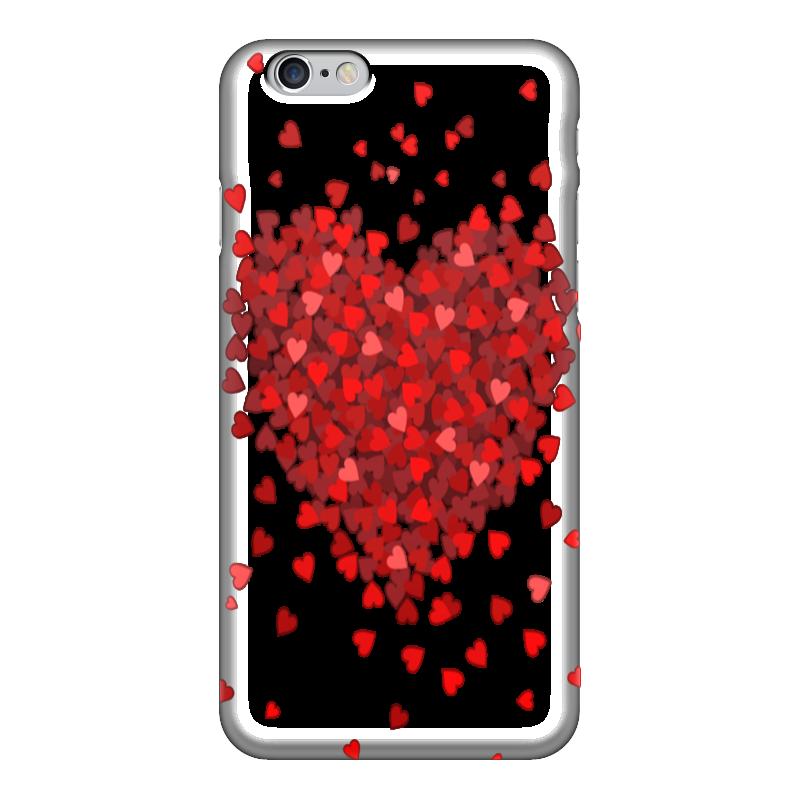 Чехол для iPhone 6 глянцевый Printio Hearts чехол для iphone 6 глянцевый printio оргия
