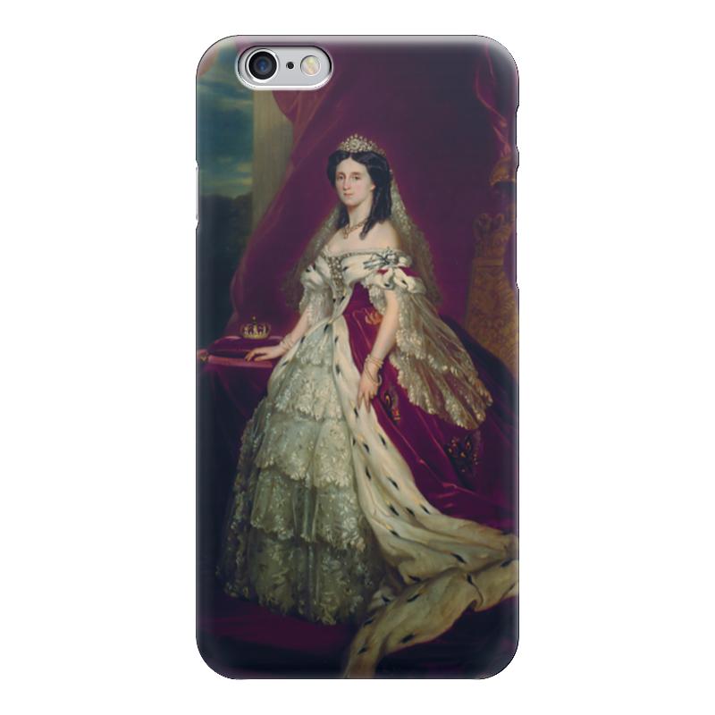 Чехол для iPhone 6 глянцевый Printio Августа (германская императрица) императрица