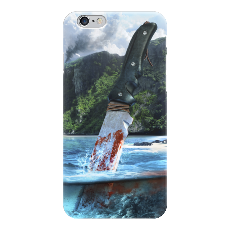 Чехол для iPhone 6 глянцевый Printio Far cry 3 фотоаппарат nikon coolpix a100 red