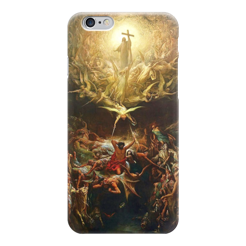 Чехол для iPhone 6 глянцевый Printio Триумф христианства над язычеством триумф времени и бесчувствия