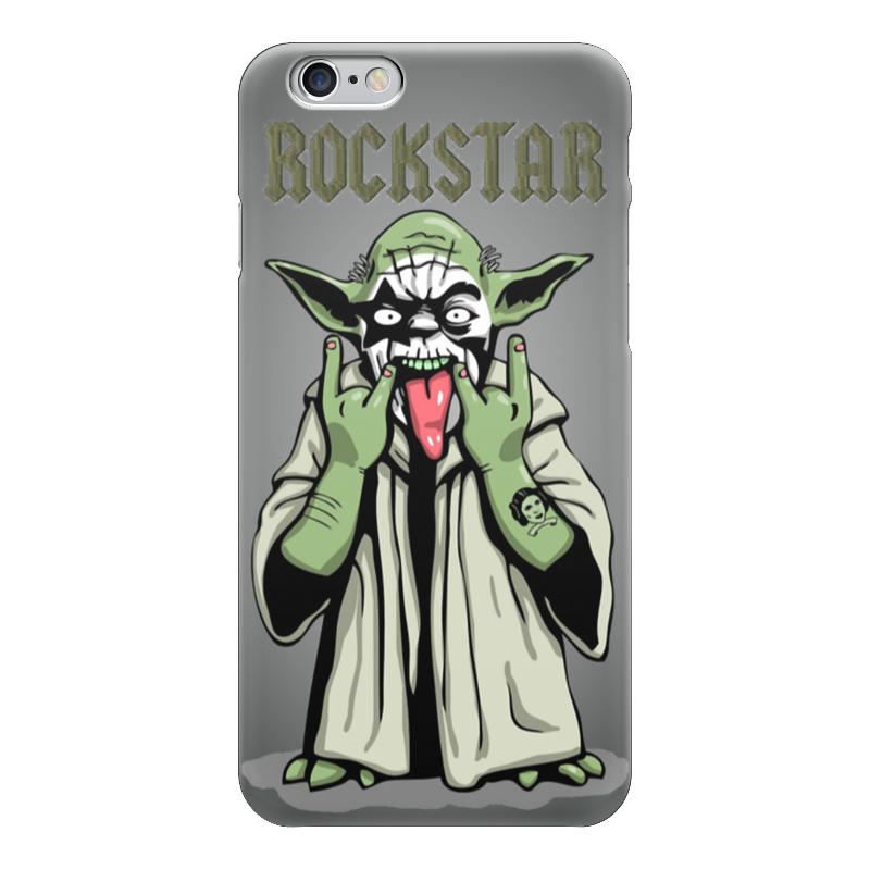 Чехол для iPhone 6 глянцевый Printio Rockstar / starwars чехол для iphone 6 глянцевый printio армянский крест