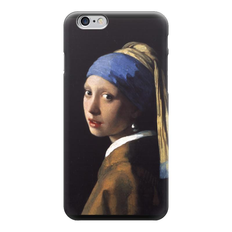 Чехол для iPhone 6 глянцевый Printio Девушка с жемчужной серёжкой (ян вермеер) рюкзак с полной запечаткой printio девушка с жемчужной серёжкой ян вермеер