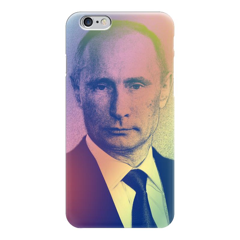 Чехол для iPhone 6 глянцевый Printio На связи с президентом... сетевой фильтр эра usf 5es 1 5m usb b