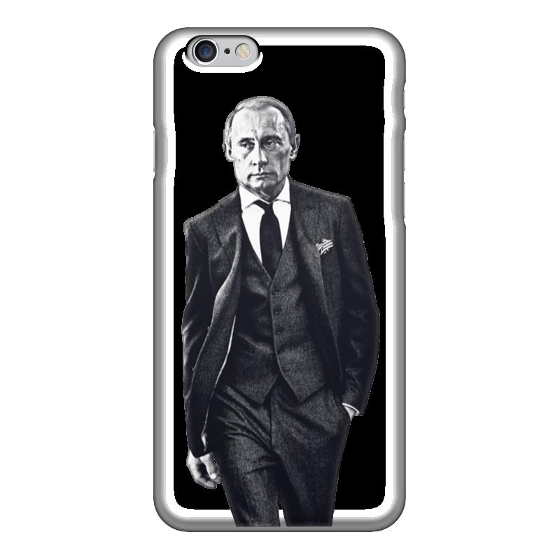 Чехол для iPhone 6 глянцевый Printio Путин в костюме чехол для iphone 6 глянцевый printio fatgamy iphone 6
