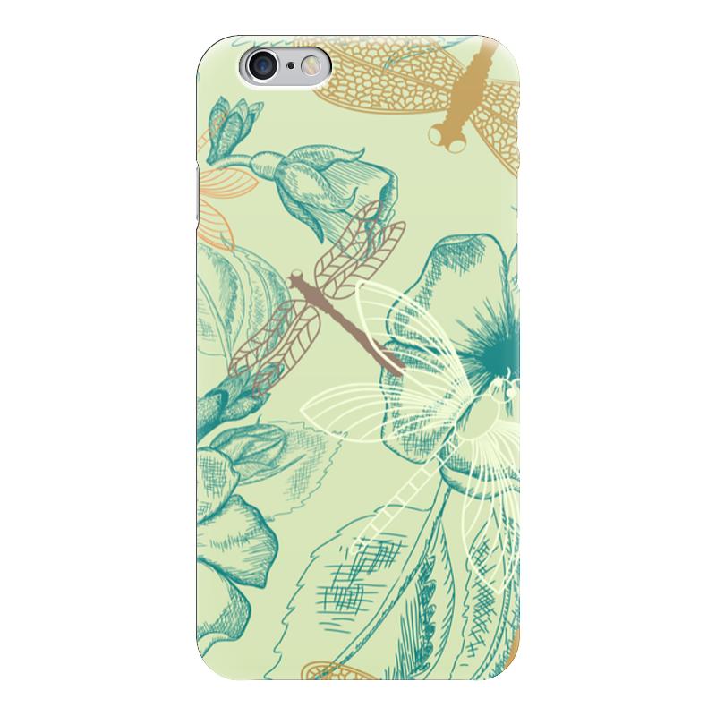 Чехол для iPhone 6 глянцевый Printio Флора и фауна зенкевич л а моря ссср их фауна и флора