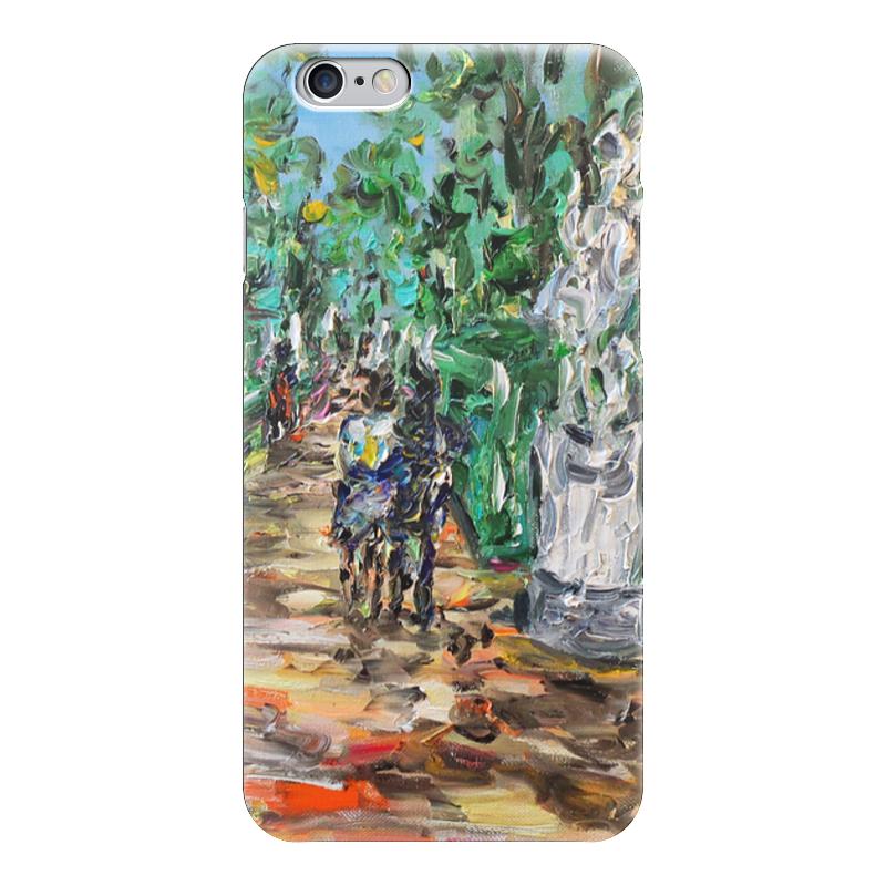 Чехол для iPhone 6 глянцевый Printio Летний сад чехол для iphone 6 глянцевый printio летний сад