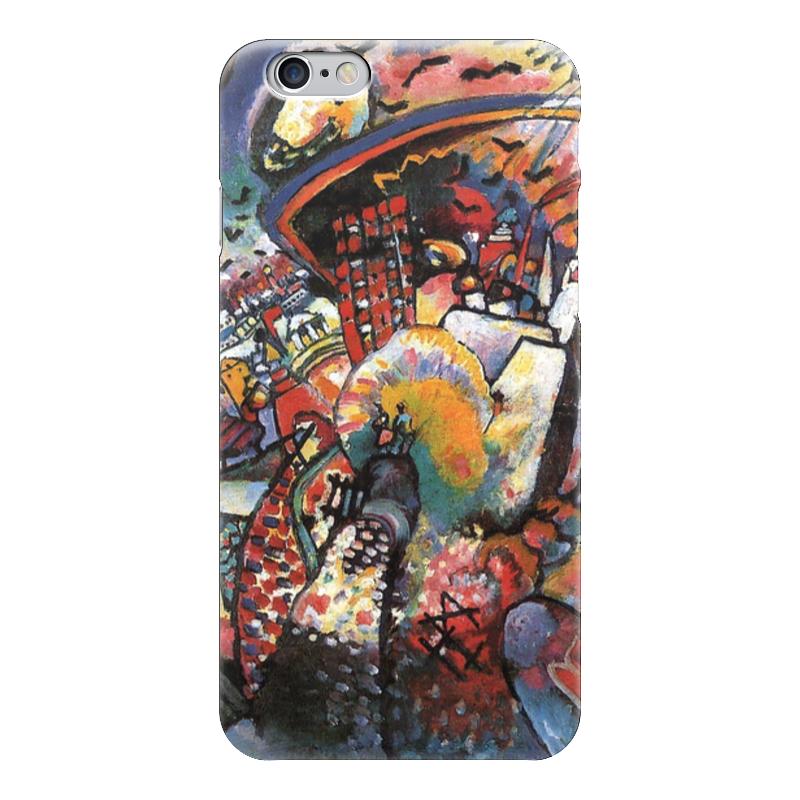 Чехол для iPhone 6 глянцевый Printio Москва. красная площадь
