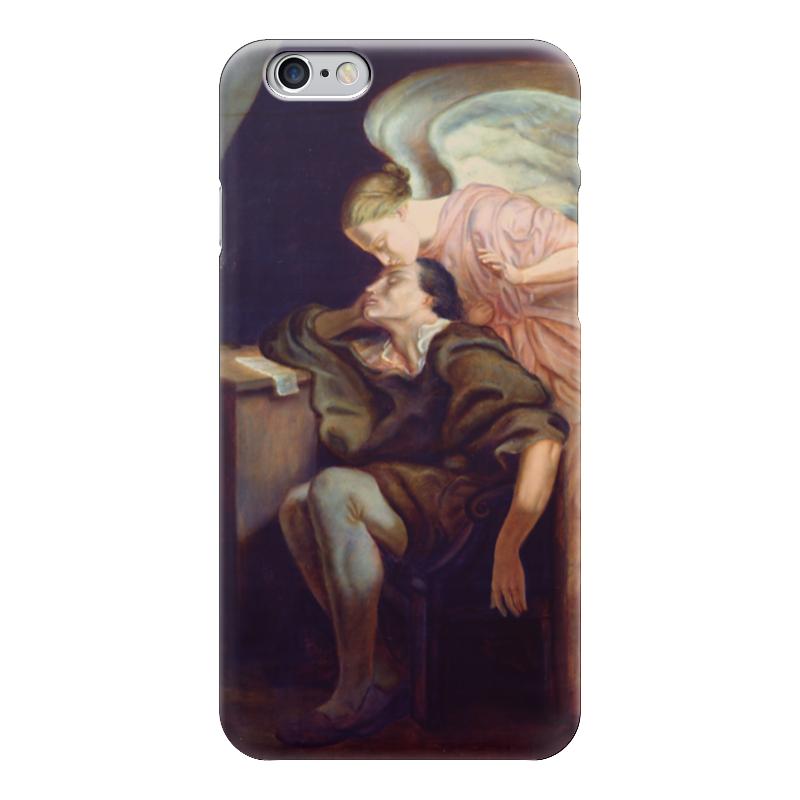 Чехол для iPhone 6 глянцевый Printio Поцелуй музы музы вдохновившие мир прозрачный супер