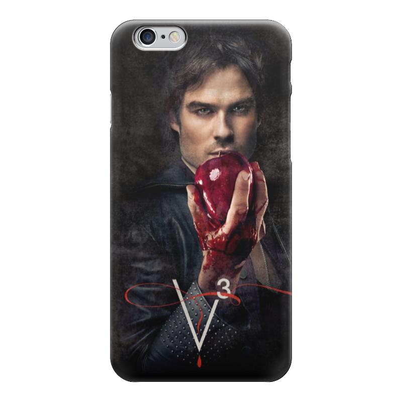 Чехол для iPhone 6 глянцевый Printio Дневники вампира vampire diaries чехол